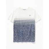 Go-Dry Gradient-Stripe Performance Tee for Boys