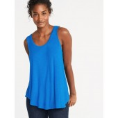 Luxe Scoop-Neck Swing Tank for Women