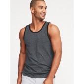 Soft-Washed Jersey Pocket Tank for Men