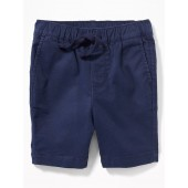 Pull-On Twill Shorts for Toddler Boys