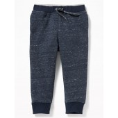 Relaxed Rib-Knit-Waist Joggers for Toddler Boys