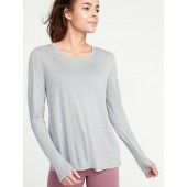 Relaxed Lightweight Fly-Away Performance Top for Women