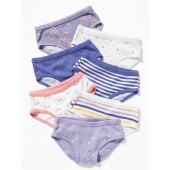Weather-Print Underwear 7-Pack for Toddler Girls