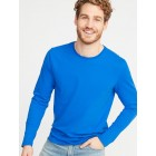 Soft-Washed Long-Sleeve Tee for Men