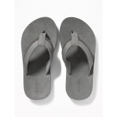 Pieced Faux-Leather Sandals for Boys