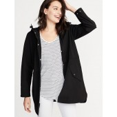 Water-Resistant Hooded Anorak for Women