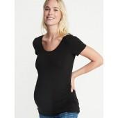 Maternity Ballet Scoop-Neck Tee