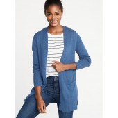 Open-Front Long-Line Sweater for Women