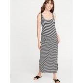 Maternity Side-Slit Maxi Tank Dress