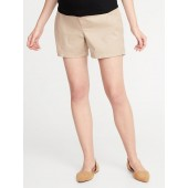 Maternity Side-Panel Everyday Shorts - 5-inch inseam