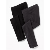 Maternity Front Low Panel Yoga Pants 2-Pack