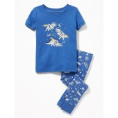 Dinosaur-Graphic Sleep Set for Toddler & Baby