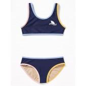 Graphic Bikini Swim Set for Girls