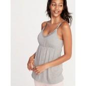 Maternity Lace-Trim Nursing Cami