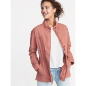 Canvas Field Jacket for Women