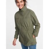 Canvas Field Jacket for Women
