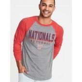 MLB&#174 Team-Graphic Raglan-Sleeve Tee for Men