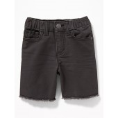 Built-In Flex Canvas Cut-Off Shorts for Toddler Boys
