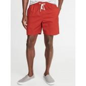 Built-In Flex Twill Jogger Shorts for Men - 7-inch inseam