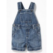 Denim Shortalls for Baby