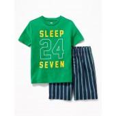 Graphic Sleep Set for Boys