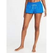 Drawstring Board Shorts for Women