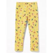 Printed Full-Length Leggings for Toddler Girls