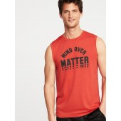 Graphic Go-Dry Eco Muscle Tank for Men