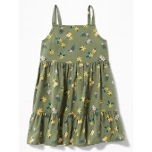 Printed Tiered Cami Dress for Baby