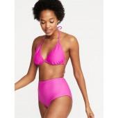 Textured Triangle-Bikini Top for Women