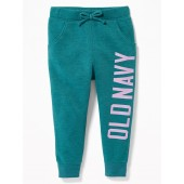 Logo-Graphic Joggers for Toddler Girls