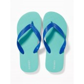 Solid-Color Flip-Flops for Boys