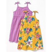 2-Pack Fit & Flare Dress for Toddler Girls