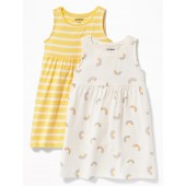 Jersey Tank Dress 2-Pack for Baby