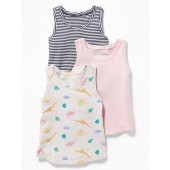 Jersey Tank 3-Pack for Toddler Girls