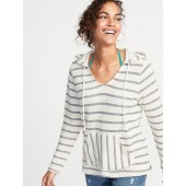 Striped Cali-Fleece Pullover Hoodie for Women
