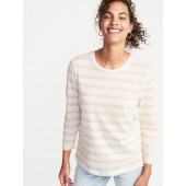 Relaxed Striped Tee for Women