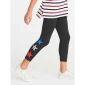 Cropped Jersey Leggings for Girls