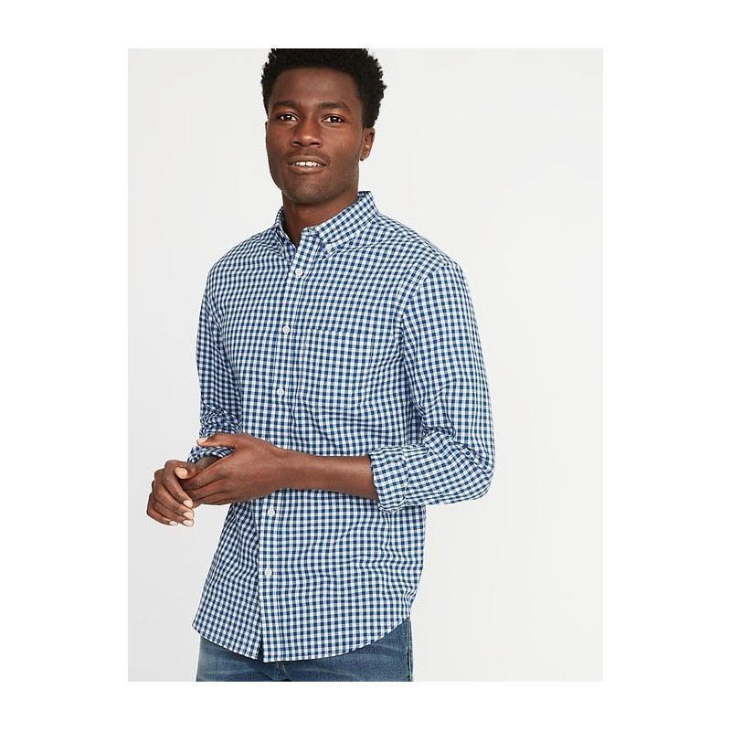 Slim-Fit Built-In Flex Everyday Shirt for Men