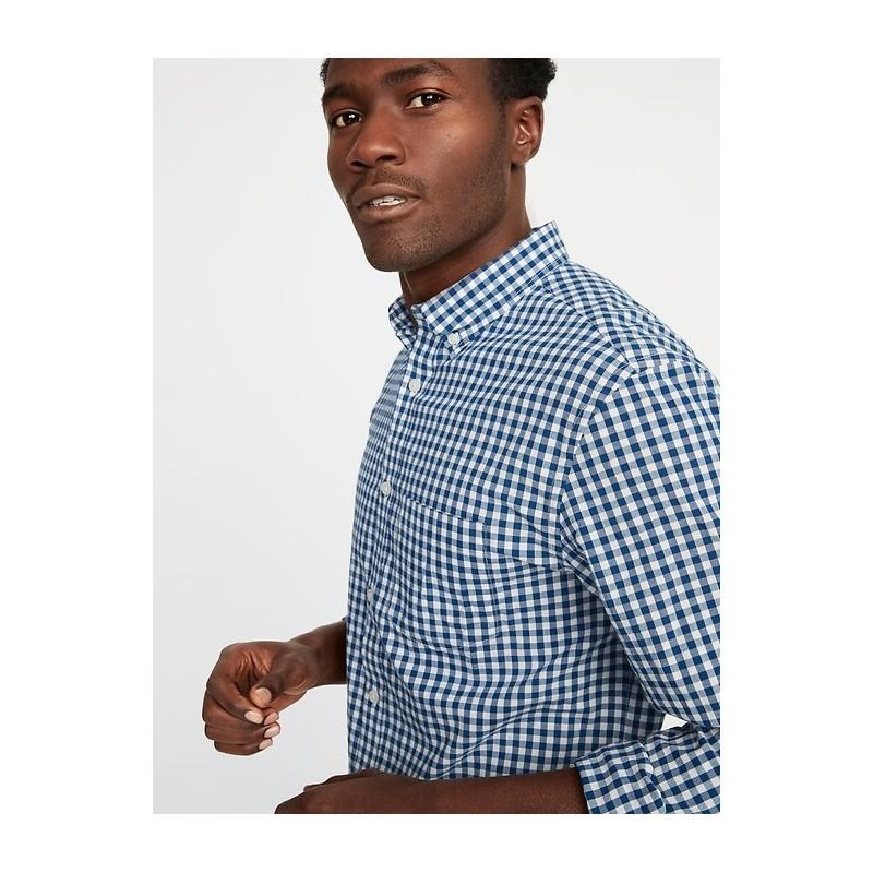 Slim-Fit Built-In Flex Everyday Shirt for Men
