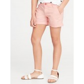 Twill Chino Shorts for Girls