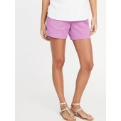 Maternity Full Panel Everyday Shorts - 5-inch inseam
