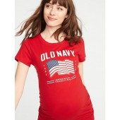 Maternity 2019 Flag Graphic Tee