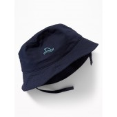 Shark Fin-Graphic Ripstop Sun Hat For Toddler & Baby