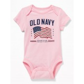 2019 Flag-Graphic Bodysuit for Baby