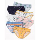 Bikini Underwear 7-Pack for Girls