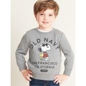 Peanuts&#174 Snoopy & Woodstock Logo Sweatshirt for Toddler Boys