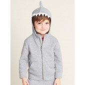 Critter Zip Hoodie for Toddler Boys