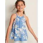 Printed Tiered-Hem Cami for Girls