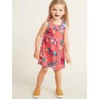 Sleeveless Fit & Flare Dress for Toddler Girls